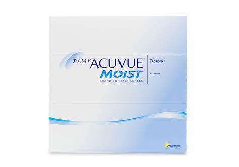1 Day Acuvue Moist 3536 by 1 Day Acuvue Moist 90 Pack Contact Lenses Discount