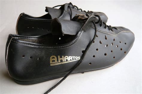 vintage bike shoes a den hartog cycling shoes size 39 classic steel bikes