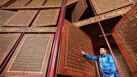 museum al quran raksasa  palembang destinasi wisata
