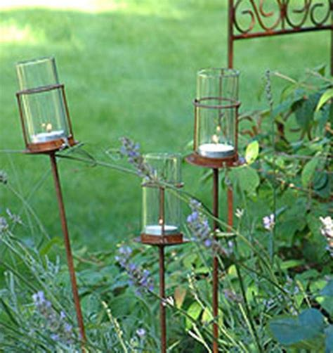 Outdoor Tea Lights Set Of Two Outdoor Tea Light Holders The Details