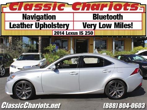 used lexus near me used car near me 2014 lexus is 250 with navigation