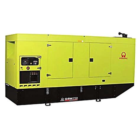 pramac gsw730m diesel generator mtu engine pramac