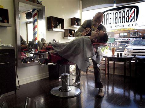 Cermin Pangkas Rambut cara desain 18 inspirasi interior tempat pangkas rambut pria keren