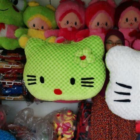Bantal 3 In 1 Hello Boneka harga bantal boneka kepala hello karpet karakter