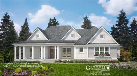 farm house plan woodbury cottage house plan house plans by garrell associates inc