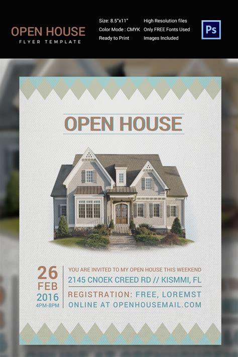 27 Open House Flyer Templates Printable Psd Ai Vector Eps Design Trends Premium Psd Open House Flyer Template