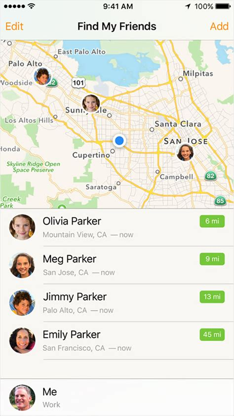 Family Sharing and location Apple Support