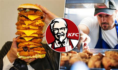 Kfc Giving Away Free Burger Box Meal In Open Kitchen Event