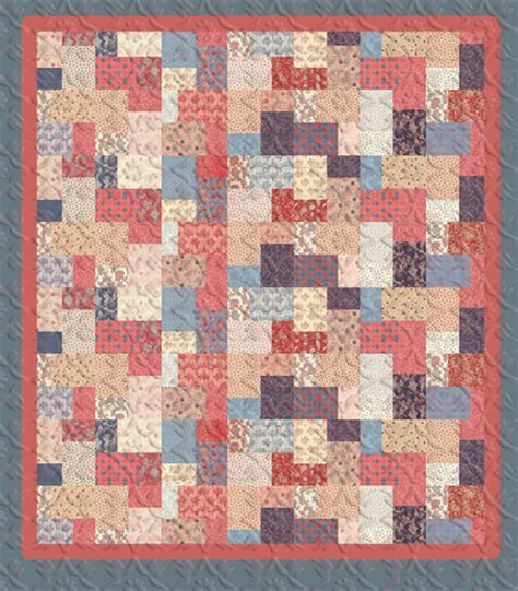 Quilts From Layer Cakes by Sliced Layer Cake Quilt Tutorial At Home