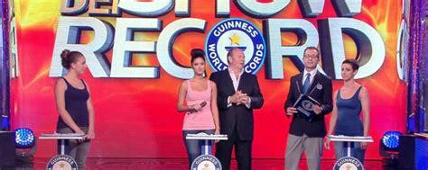 Records Il 3 2 1 Records Il 19 Maggio Il Meglio De Lo Show Dei Record Tvzap