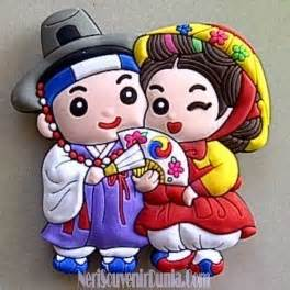 Magnettempelan Kulkas Souvenir Afrika jual souvenir magnet kulkas pasangan korea a
