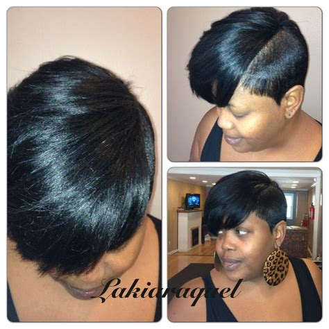 partial short weaves short partial quick weave my work pinterest
