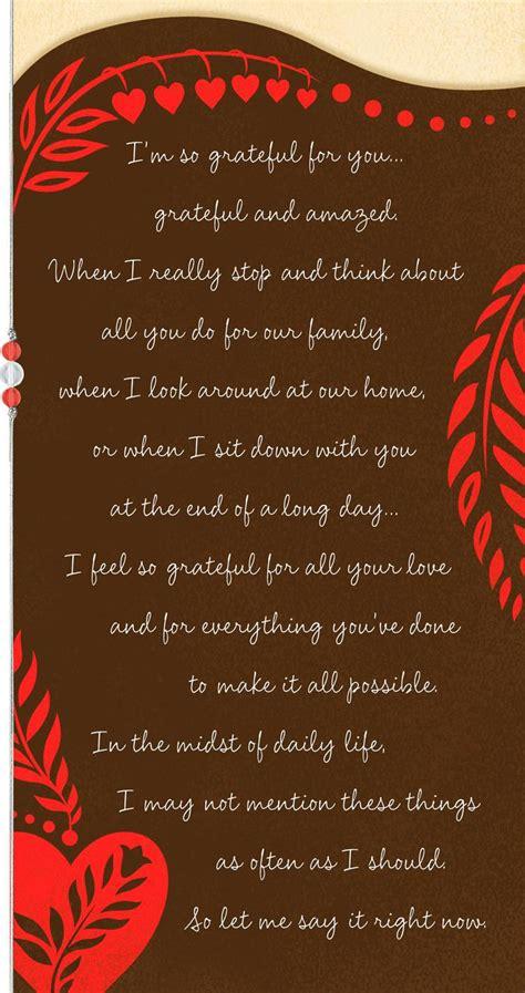 grateful   valentines day card  husband