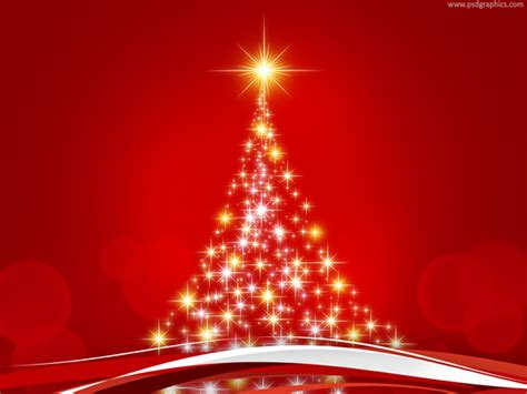abstract christmas tree psdgraphics
