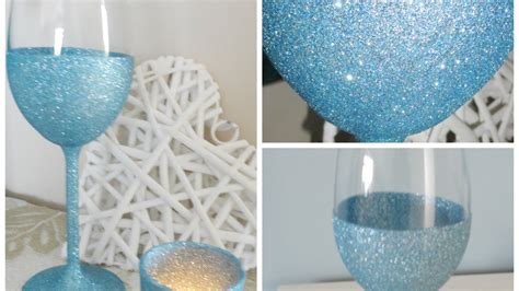 how to make your own sparkling wine glasses diy crafts tutorial guidecentral