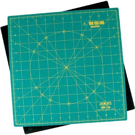 rotry cutting mat olfa spinning rotary mat 12x12 2349149 hsn