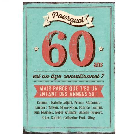 maxi carte quot pourquoi 60 ans est un 194 ge sensationnel