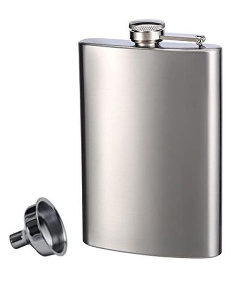 Top Shelf Flasks by Top Shelf Flasks Stainless Steel Flask Funnel Set 8 Oz