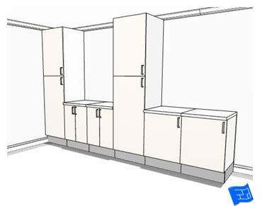 Kitchen Refrigerator Cabinet by Kitchen Design Layout