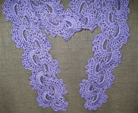 Crochet Pattern Queen Anne S Lace Scarf   mr micawber s recipe for happiness queen anne s lace