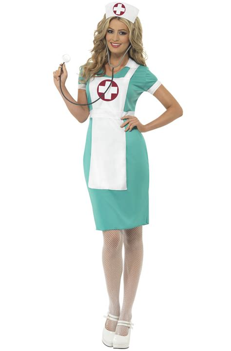 vintage nurse adult costume purecostumescom