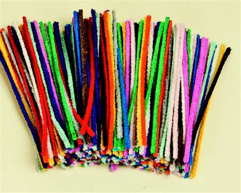 crafts with pipe cleaners asco gt shop gt arts crafts gt pipe cleaners 30cm