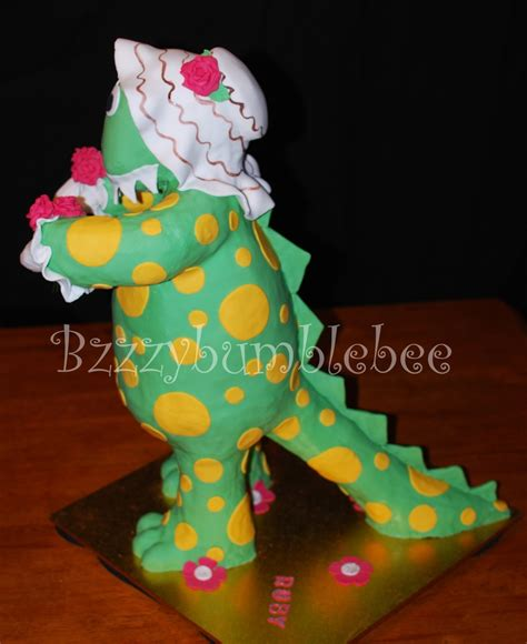 The Dinosauria the wiggles 3d dorothy the dinosaur cakecentral