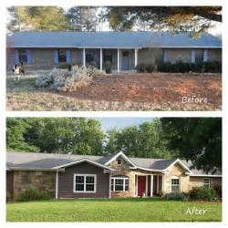 70s House Remodel Before And After by Remodeled Ranch Homes Before And After Before And After
