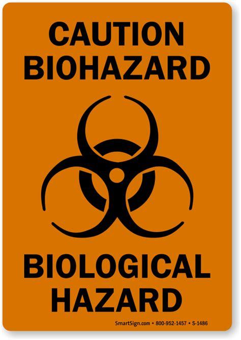 Etiketten Zeichen by Biohazard Symbol Stickers