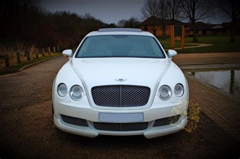 bentley flying spur white white bentley flying spur wedding car hire
