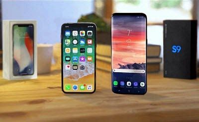 new iphone xs vs samsung galaxy s9 which is better