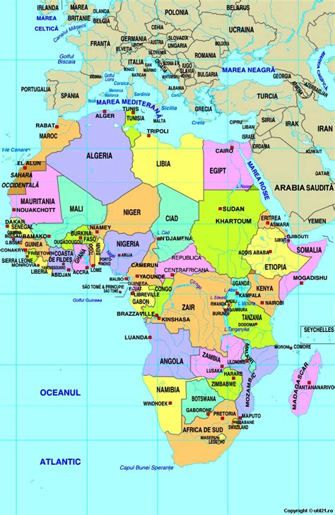 Africa World Map by Map Of Africa Maps Worl Atlas Africa Map Online Maps