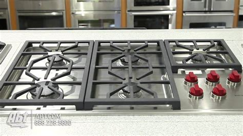 Wolf Gas Cooktop wolf professional 36 inch gas cooktop cg365p overview