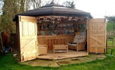 heres  tiny bar sheds   hottest  trend
