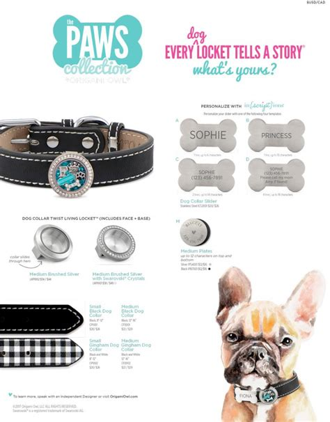 Origami Owl Store - origami owl paws collection origamo owl canada
