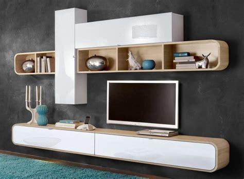 meuble tv mural bois solutions pour la d 233 coration
