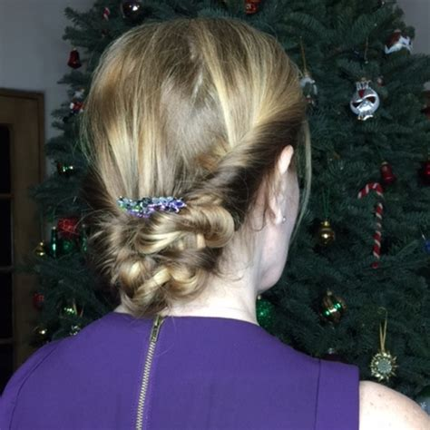 updo over 40 easy and stylish holiday hairstyles for women over 40