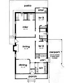 Design Home 880 Sqft Country Style House Plans Plan 18 143