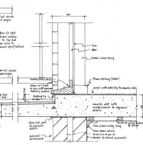 detailed section drawing bollard detail drawing images