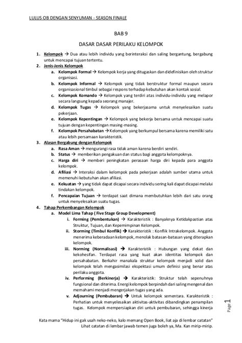 Modul Ut Manajemen Perilaku Organisasi modul uas prilaku organisasi