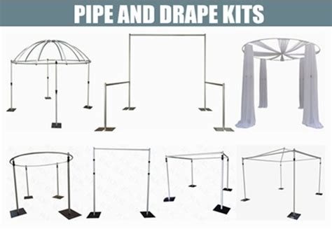 how to make pipe and drape systems best 25 pipe and drape ideas on pinterest sequin