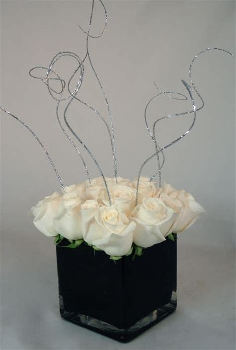 Black And White Centerpiece Owers Of The Field Las Vegas