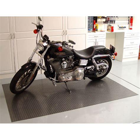 Motorcycle Garage Mat   Diamond Deck in Garage Floor