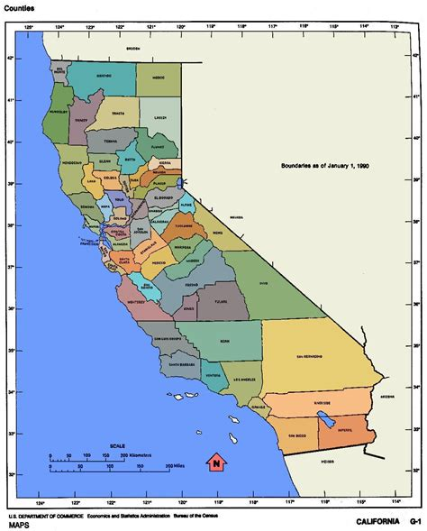 map california usa united states map california
