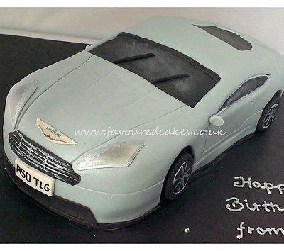 Aston Martin Cake Aston Martin Cake 30th Birthday Ideas