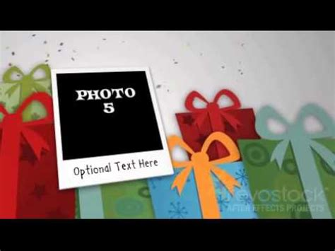 after effects free birthday templates birthday photo intro 109922 download free after effect