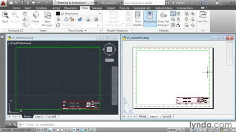 autocad tutorial how to insert a title block creating a layout part two inserting a title block from