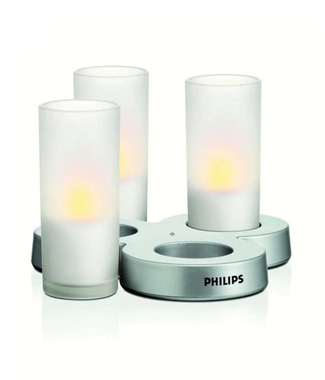 candele philips imageo led candle laa61aywc 12 philips