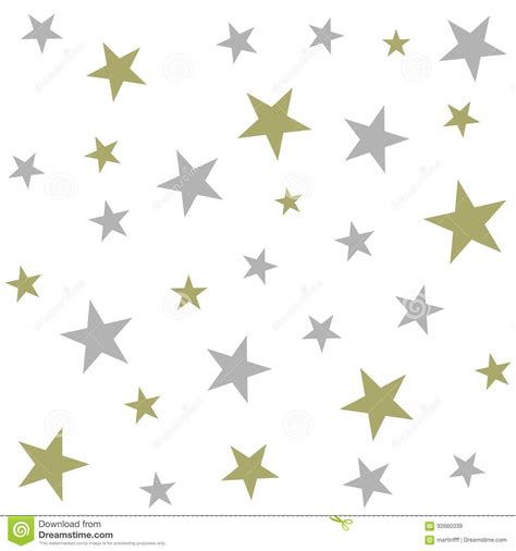 Vector Silver White silver and gold on white background seamless vector