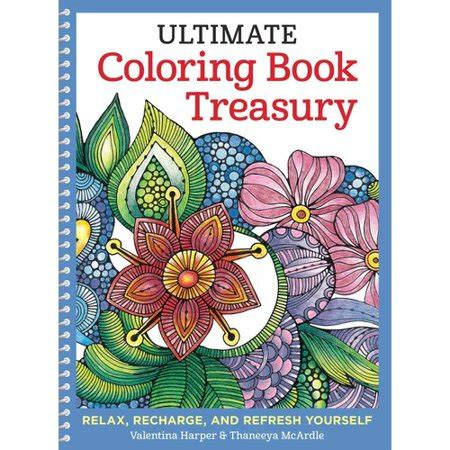 walmart coloring books ultimate coloring book treasury coloring book relax